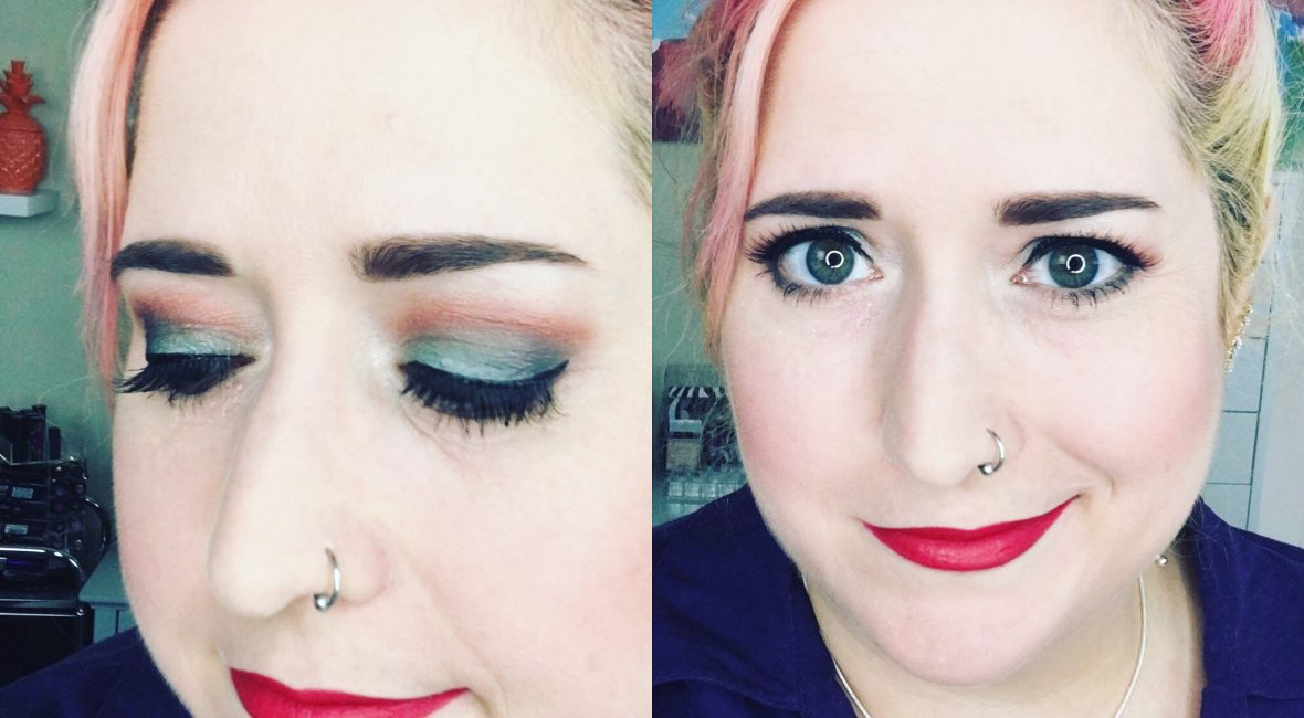 Urban Decay Alice Through the Looking Glass Iracebeth Look