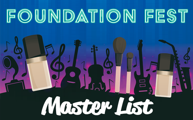 Foundation Fest Master List