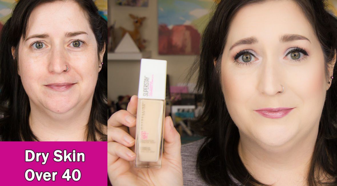 Maybelline Super Stay Full Coverage Foundation Review
