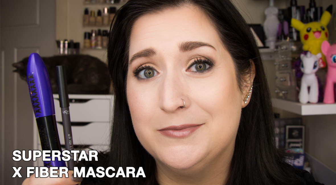 L'Oreal Superstar X Fiber Mascara